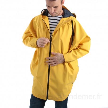 Cape de pluie mixte adulte BATMAN - jaune