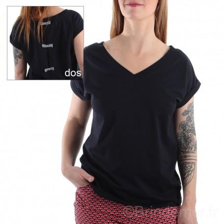 Tee-shirt manches courtes ANELYS pour femme