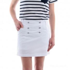 Jupe short à pont pour femme