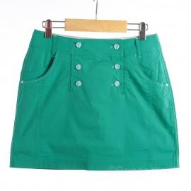 Jupe short à pont pour femme - coloris CHLORO
