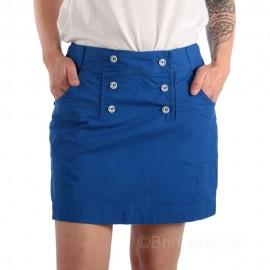 Jupe-short à pont pour femme - bleu Impérial
