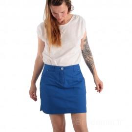 Tee-shirt uni en coton pour femme TELLA - blanc