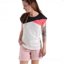 Tee-shirt tricolore pour femme TROPIC