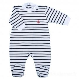 Pyjama mariniere en coton
