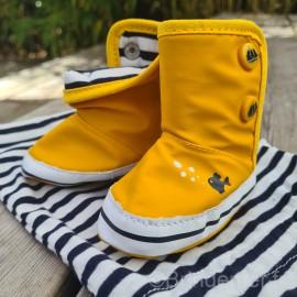 Bottes chaussons bébé RONRON - Jaune