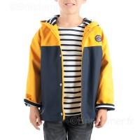 Ciré marin enfant DOUBLE POLAIRE bicolore OURAGAN Hiver
