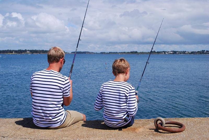 Pêcheurs en marinières