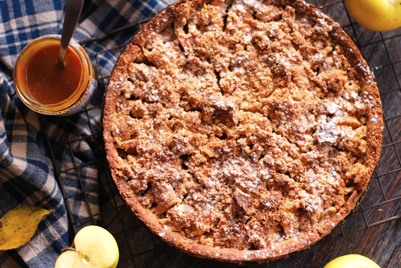 tarte-crumble-pommes-caramel