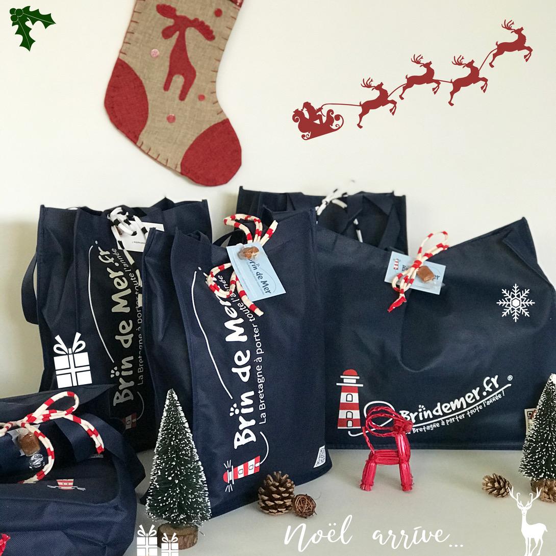 Paquets cadeaux de Noël Brin de Mer