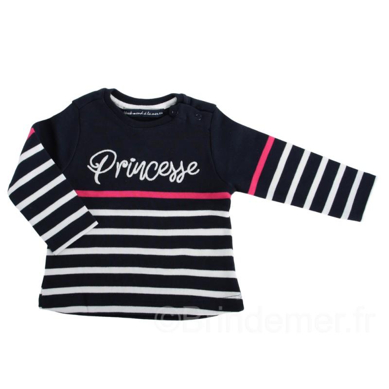 Tee-shirt SUBLIMETTE princesse pour fille