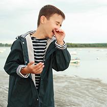 vêtement style marin pour enfant
