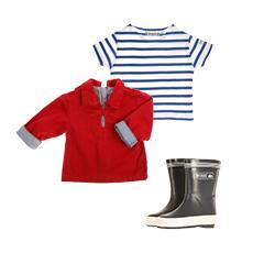 Vêtements style marin pour la mi-saison