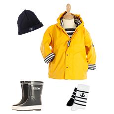 Vêtements marins pour homme et femme