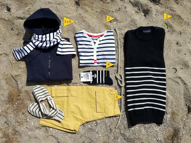 Tee-shirt marin, pull marin breton, accessoires mode bretonne pour Homme