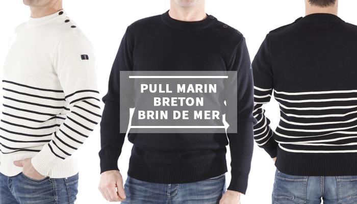 Pull marin breton Brin de Mer