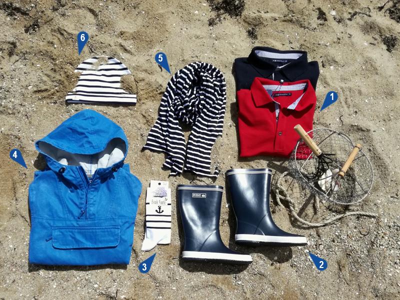 Tee-shirt marin, pull marin breton, vareuse bretonne