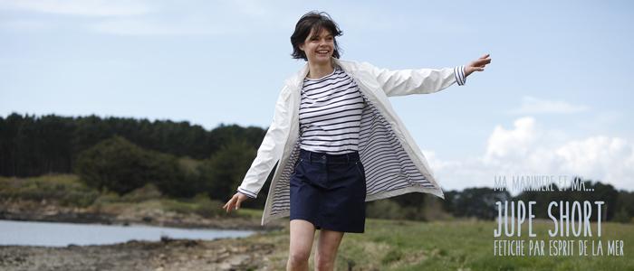 Jupe short pour femme par Esprit de La Mer