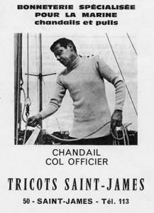 L'histoire du pull marin Saint James