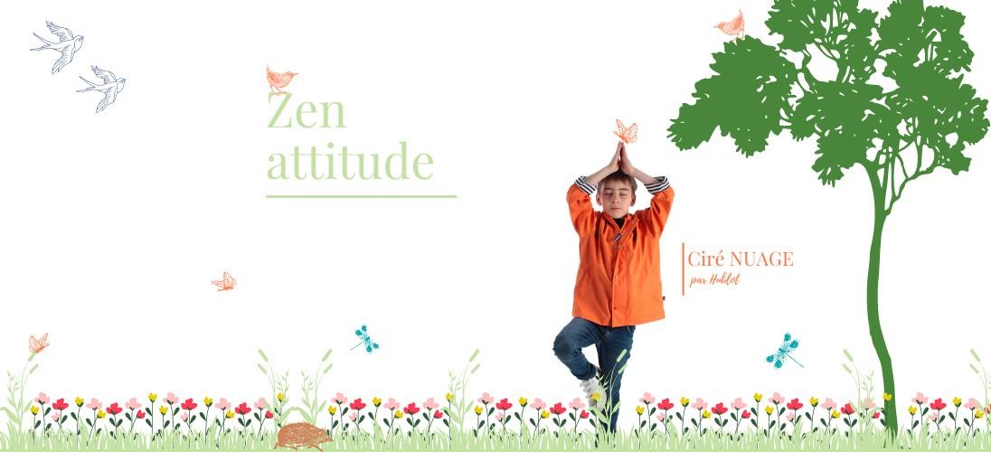 Zen attitude avec le ciré NUAGE enfant !