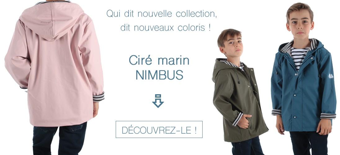 Nouveaux coloris pour les cirés Nimbus enfants !