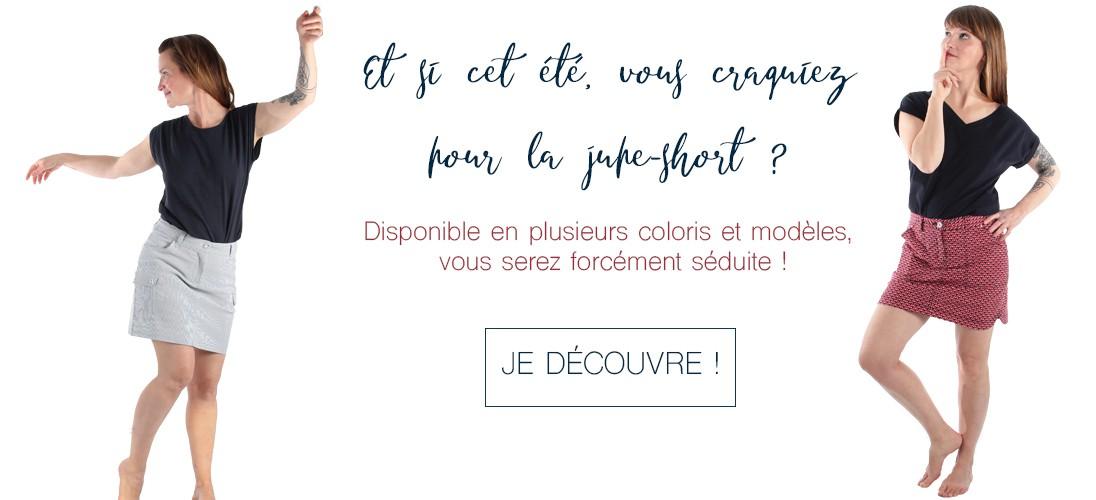 Jupe-short Esprit de la Mer pour l'été !