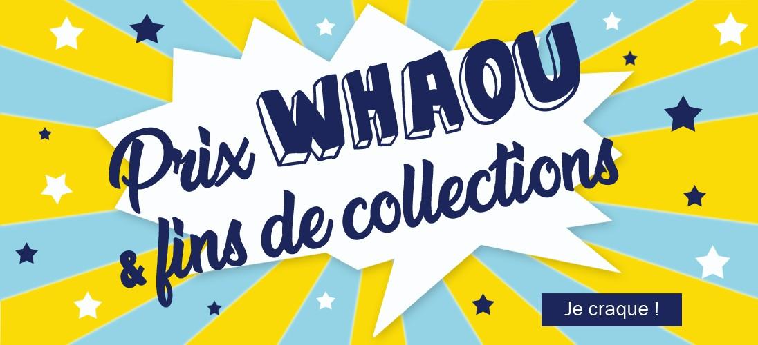 Prix WHAOU et fins de collections